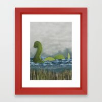 Nessie Framed Art Print