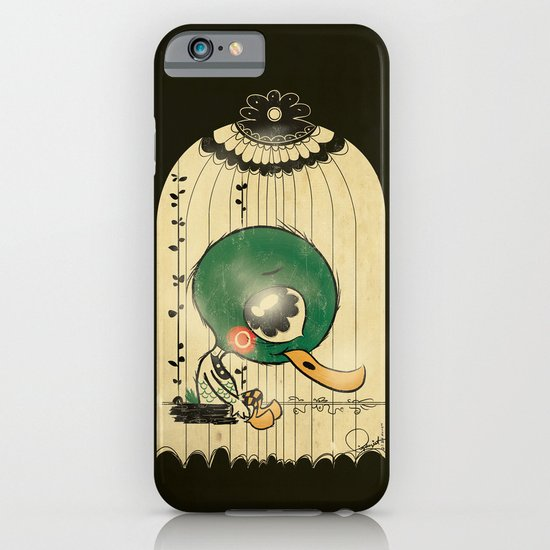 Chinese Idiom: Sitting Duck 插翅难飞  iPhone & iPod Case