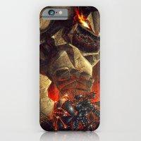 Earth Elemental Battle iPhone 6 Slim Case