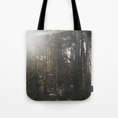 Of light & trees Tote Bag