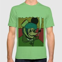 SEVERED EAR.  (Self Port… Mens Fitted Tee Grass SMALL