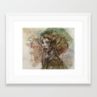 shadow partner Framed Art Print