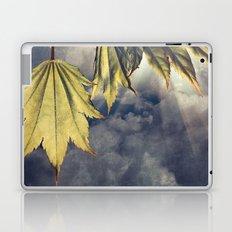 full moon maple sky Laptop & iPad Skin