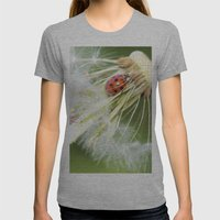 dandelion Womens Fitted Tee Athletic Grey SMALL