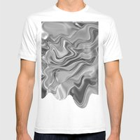 Blob Mens Fitted Tee White SMALL