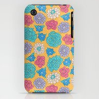 iPhone 3Gs & iPhone 3G Cases featuring RocoFloral (mango) by MaJoBV