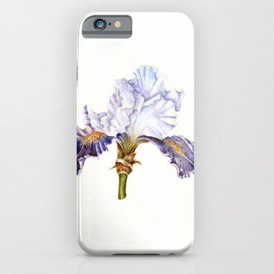 Purple Iris iPhone & iPod Case