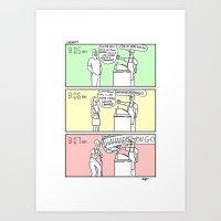 Coffee Shop! Art Print