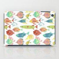 Little Flowers And Frien… iPad Case