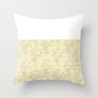 Riverside Gold Throw Pillow