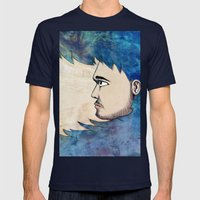 Into the Water Mens Fitted Tee Navy SMALL