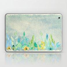 Flowers In A Meadow I Laptop & iPad Skin