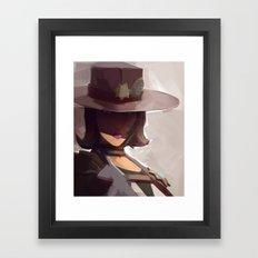 Borderlands - Sheriff of Lynchwood Framed Art Print