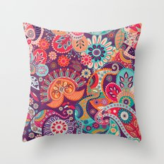 Shabby flowers #27 Throw Pillow