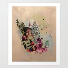 Speak Art Print
