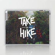 Take A Hike Laptop & iPad Skin
