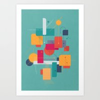 Thinking Of Summer Art Print