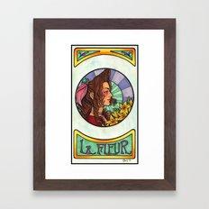 FFVII - Aeris Gainsborough Framed Art Print