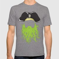 Davy Jones Mens Fitted Tee Tri-Grey SMALL