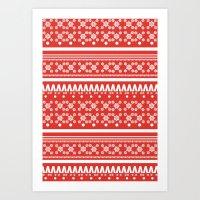 Christmas Jumper 2 Art Print
