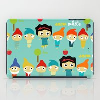 Snow White and the 7 dwarfs iPad Case