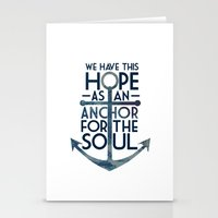 WE HAVE THIS HOPE. Stationery Cards