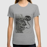 Infinity Womens Fitted Tee Athletic Grey SMALL
