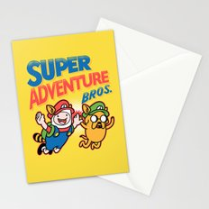 Super Adventure Bros Stationery Cards
