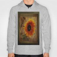 Vintage Sunflower Framed Hoody