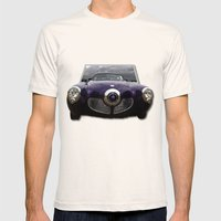 Studebaker Mens Fitted Tee Natural SMALL