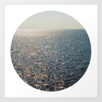 Sparkly Sea Art Print