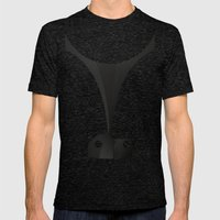 Silhouette Racers - Bugatti Type 57C (Light Version) Mens Fitted Tee Tri-Black SMALL