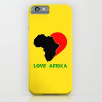 iPhone & iPod Case featuring Love Africa by Octavian Mielu