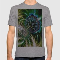 Leaf 0 Mens Fitted Tee Athletic Grey SMALL
