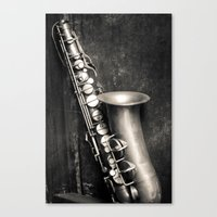 Music in my heart Canvas Print