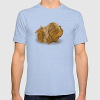 grumpy old guinea pig  Mens Fitted Tee Tri-Blue SMALL
