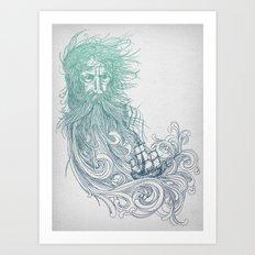 Seabeard Art Print