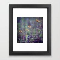All Good Things (Daisy) Framed Art Print