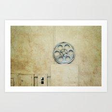 the palace. Art Print