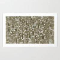 City Visions Art Print