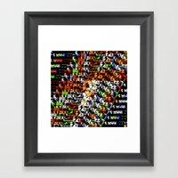 > NES V4 Framed Art Print