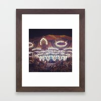 Another Carousel  Framed Art Print