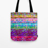 Glitch 001 Tote Bag
