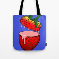 Strawberry Goo Tote Bag