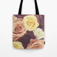 Vintage Roses II Tote Bag