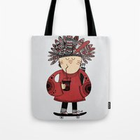 Native American Skater B… Tote Bag