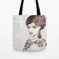 Belly Dance 2 Tote Bag