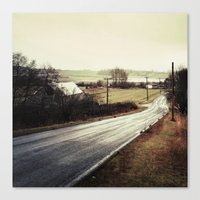 I Took The Road Less Travelled Canvas Print