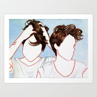Tegan and Sara Art Print