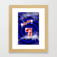 se7en Framed Art Print